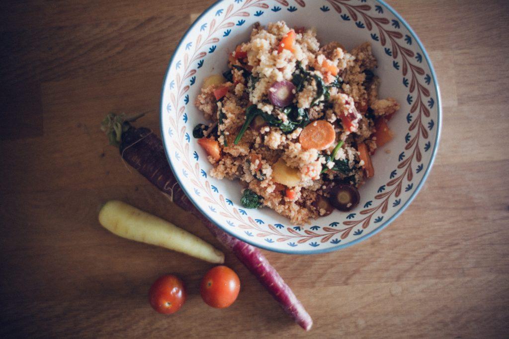 Veggie Couscous Pfanne Rezept