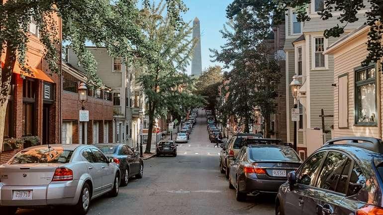 Boston Reise im Herbst