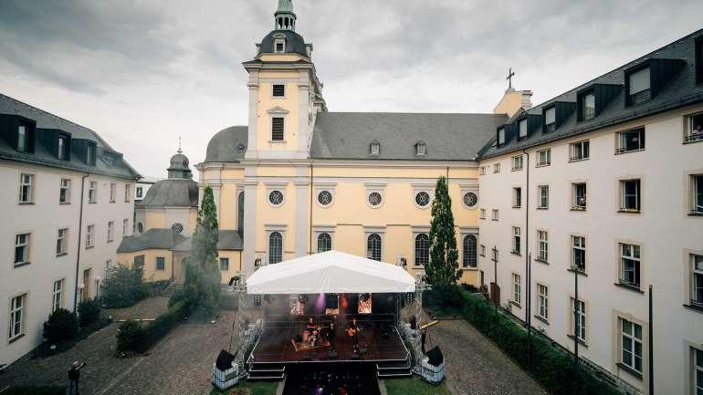 Courtyard-Concerts im Living Hotel De Medici Düsseldorf