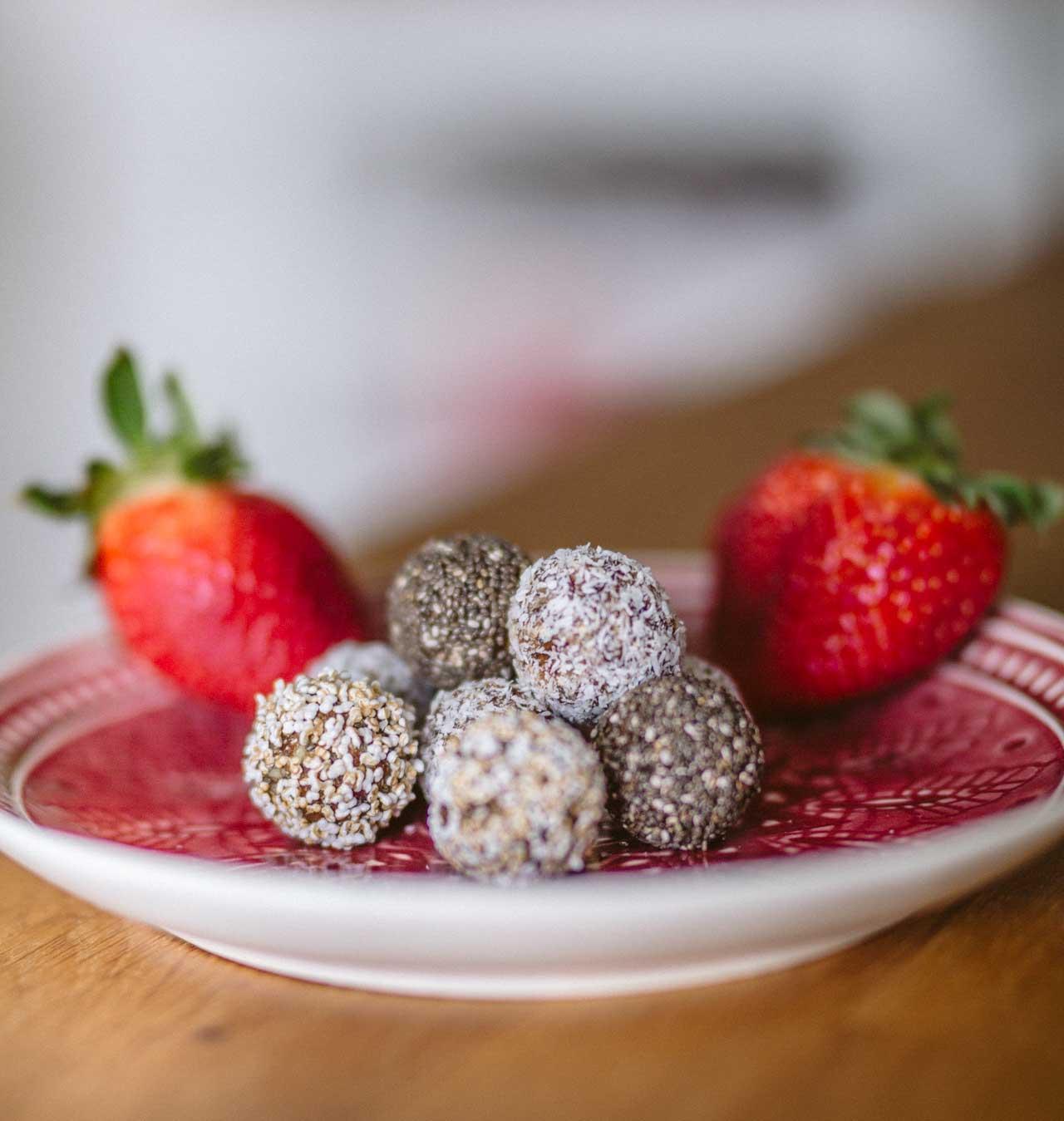 fitnessfood energy balls rezept