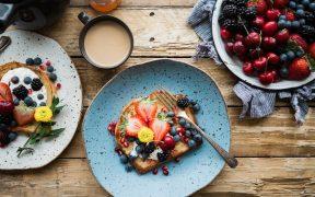 gesundes leckeres frühstück