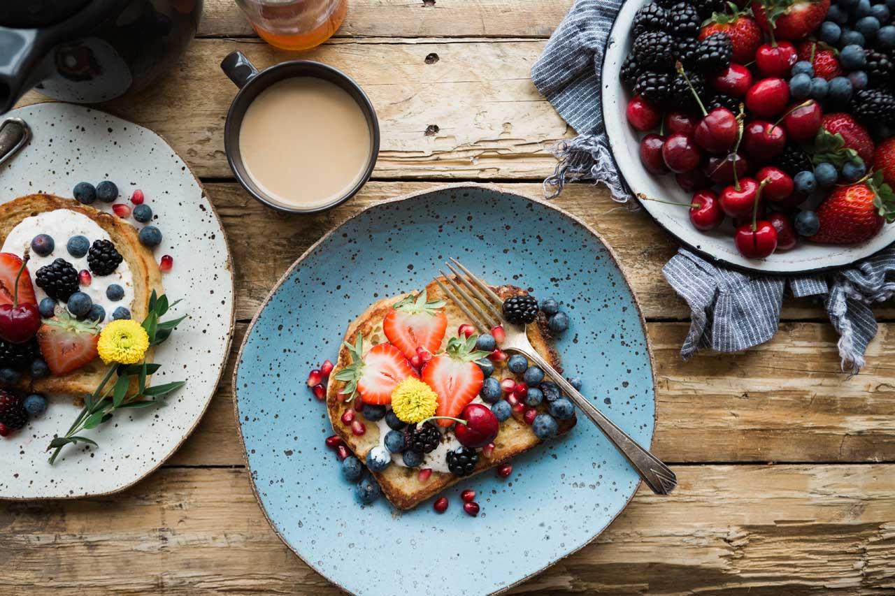 5 Ideen für gesundes, leckeres Frühstück