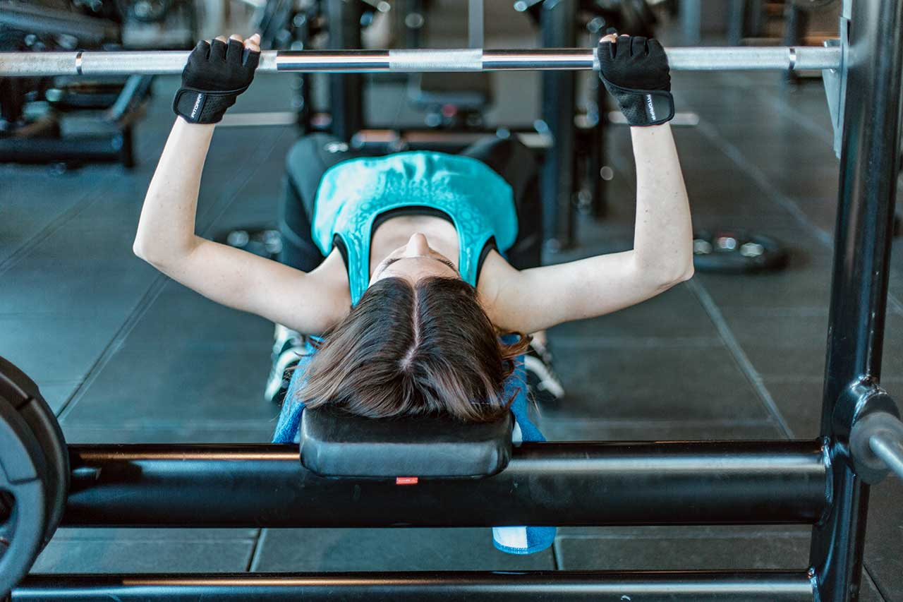 Muskelaufbau Bankdrücken