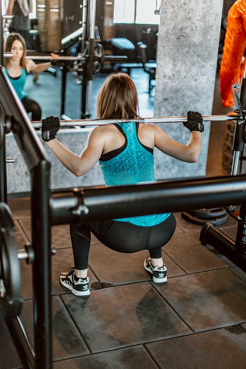 muskelaufbau squat