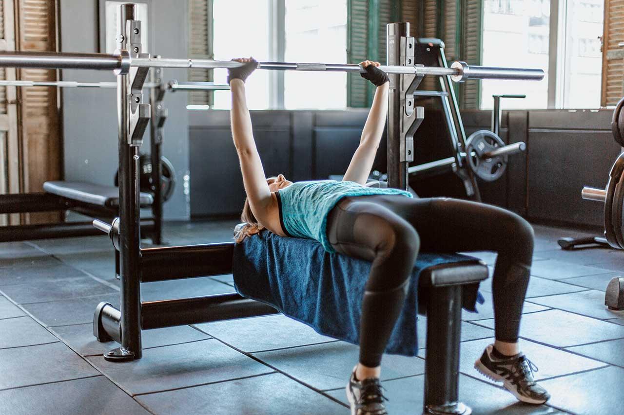 Muskelaufbau Benchpress