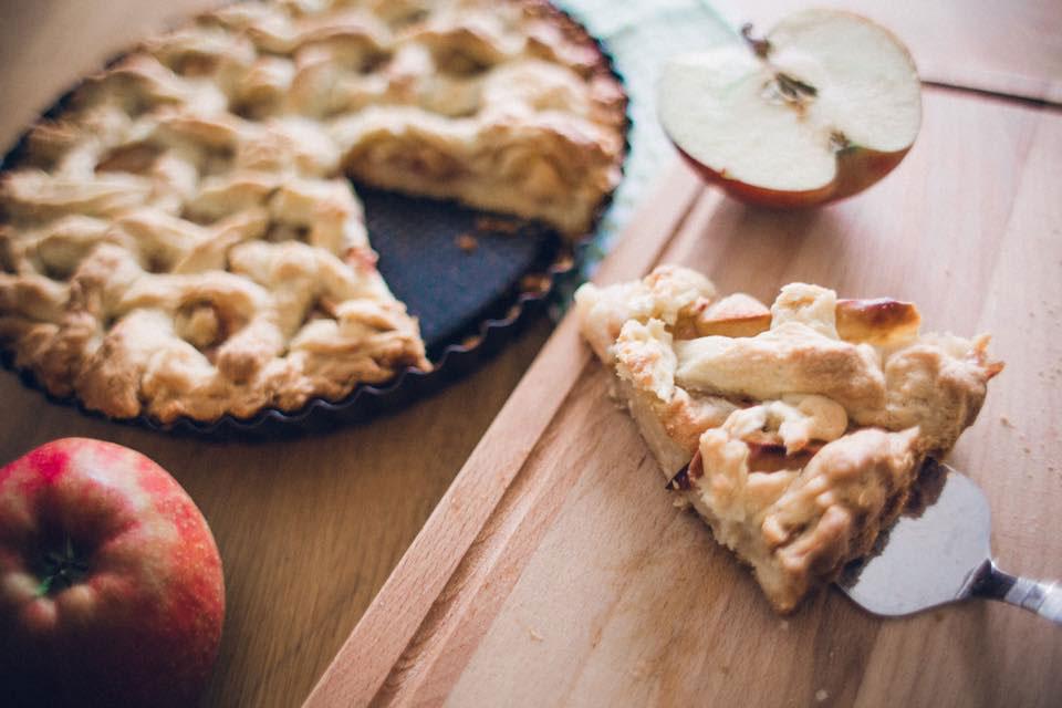 Zuckerfreies Apple Pie Rezept: Amerikanischer Apfelkuchen